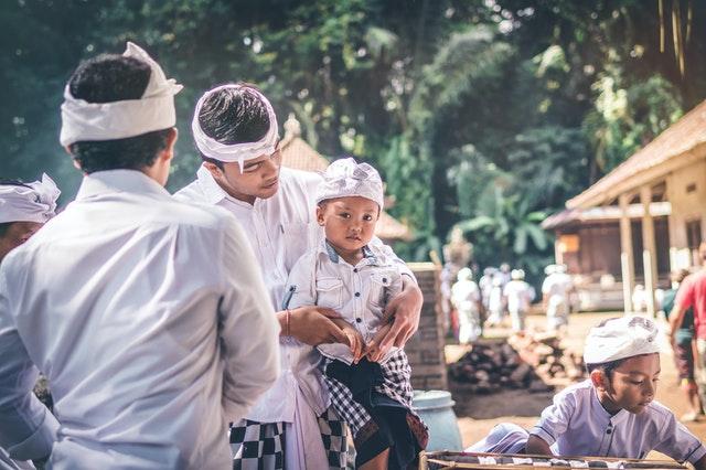 薄毛率が低いインドネシア
